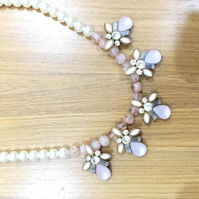 H&M Pink Pearl Necklace