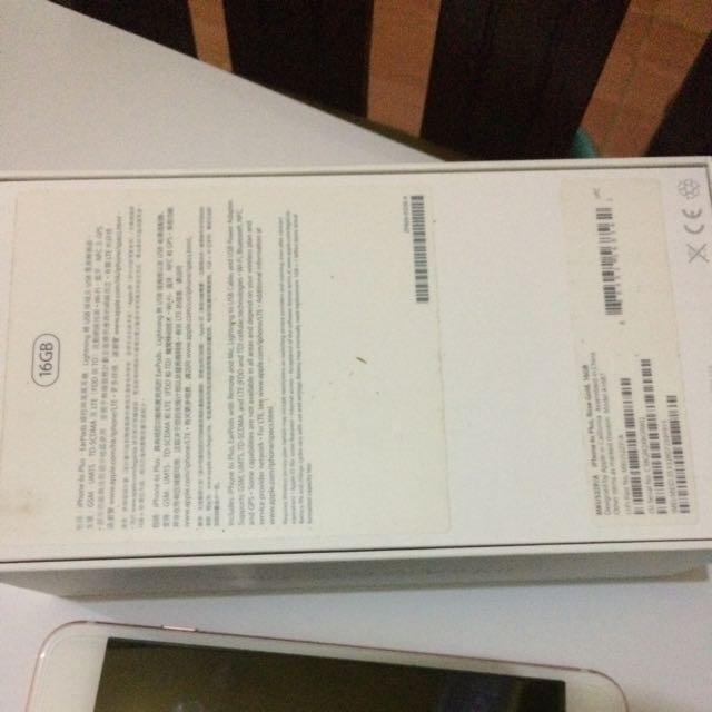 iphone 6s Plus 16gb Rosegold Ex Garansi Spore