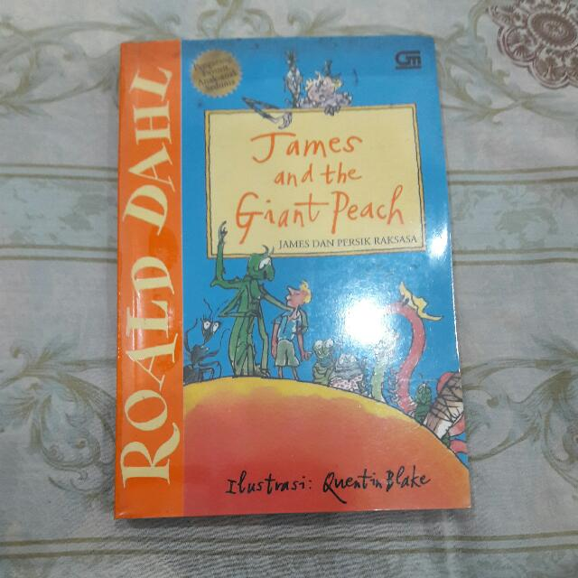James And The Giant Peach by Roald Dahl - Indonesian