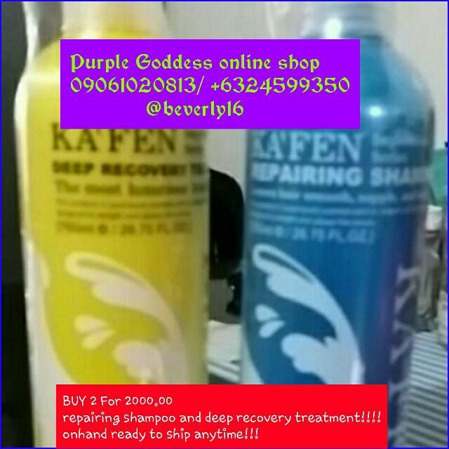 Kafen Shampoo And Treatment