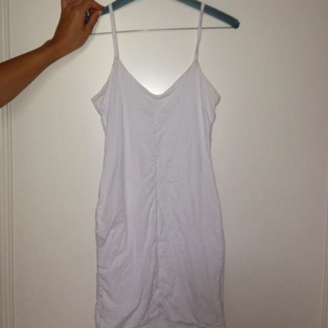 Kookai White Slip Dress