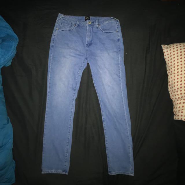 Lees Riders Slim Rollie Jeans