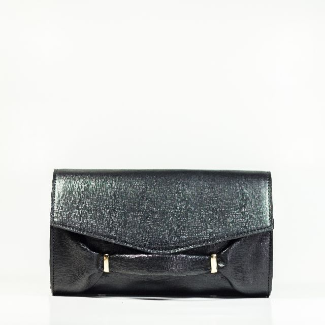 Legra Audrey Black Clutch (Tas, clutch, bag, hitam, pesta, casual, Handmade, Black)
