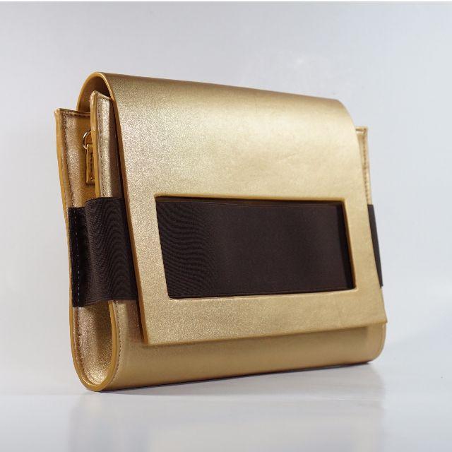 Legra Clara Gold (Clutch, Tas, Bag, Tas pesta, Tas Casual, Tas Lempang, Tas Kulit Sintetis, Handmade)