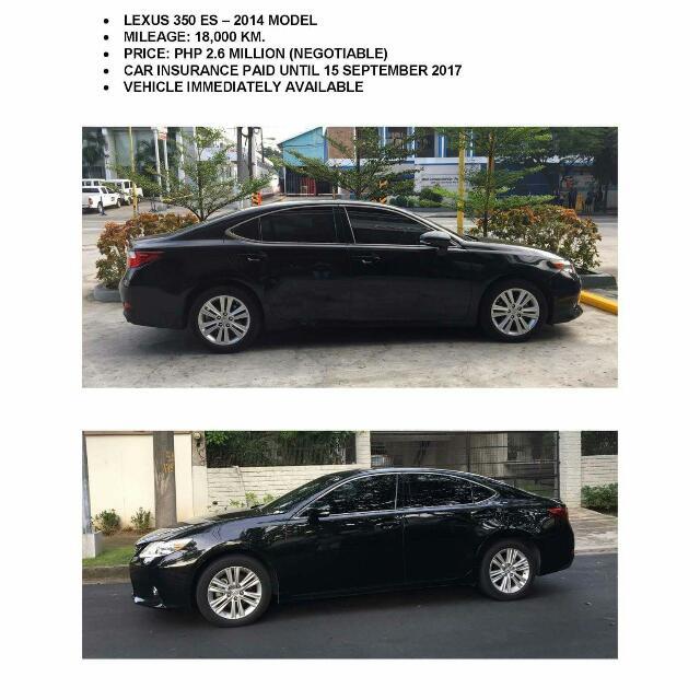 Lexus 350 ES
