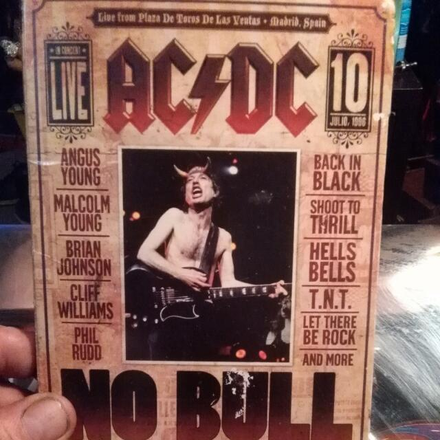 Live No Bull Ac Dc Album. The Directors Cut. Throw In Ac-dc Live And Who Made Who