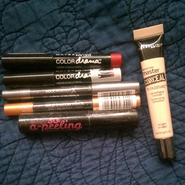 Makeup Bundle Maybelline And Maxfactor