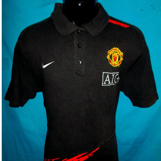 0b413e8af75 Manchester United Nike Polo shirt jersey M