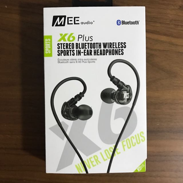 MEE Audio X6 Plus stereo Bluetooth Wireless Sports In-ear