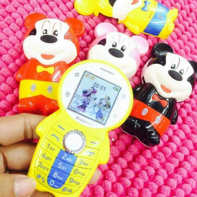 Mickey lover? Be unique  Get this lovely basic phone, free shipping  nationwide, pwede dn meetup kaliwaan payment   Kawaiii!! , Iwas nakaw, iwas  snatch