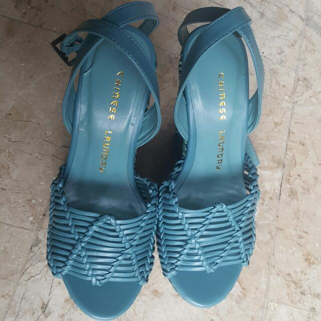 Never used Authentic Chinese Laundry Simple Sweet Wedge Sandals