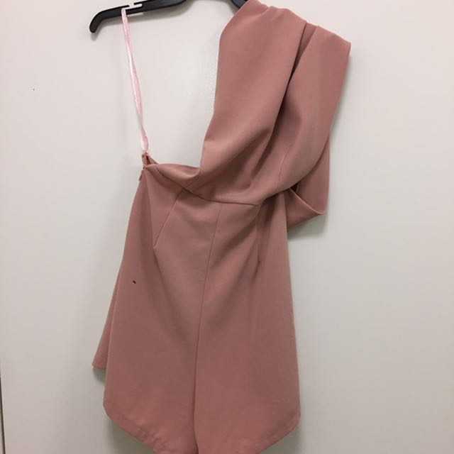 One Should Playsuit Mauve
