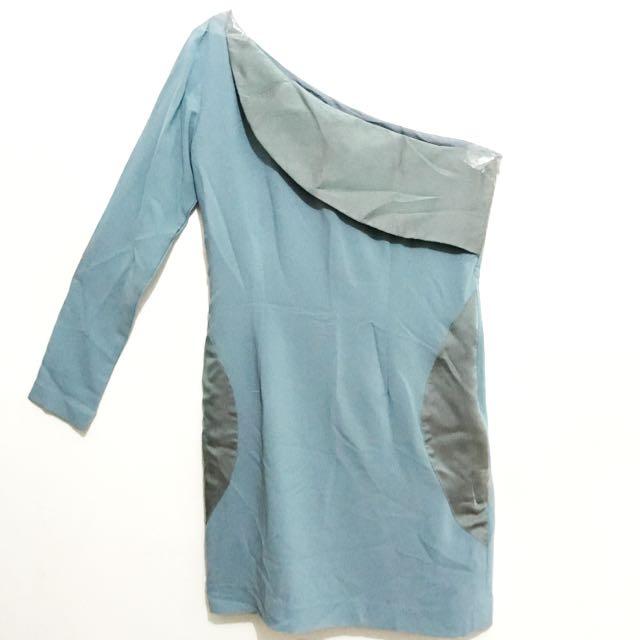 One Shoulder Short Dress