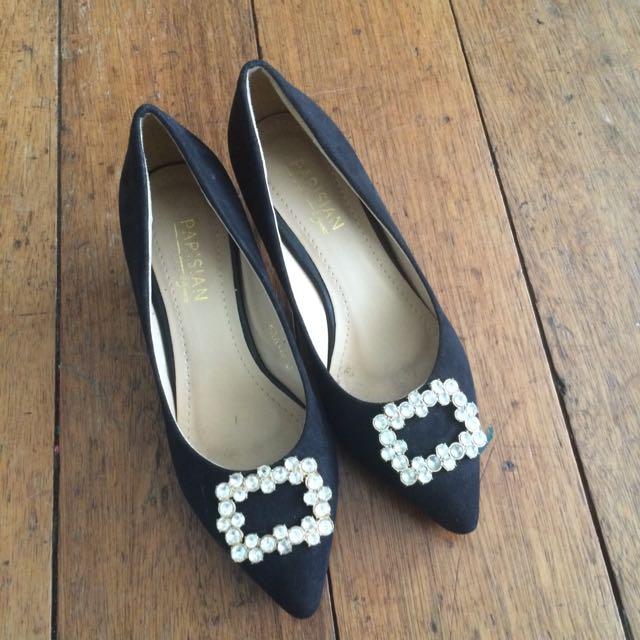 Parisian Black Heels
