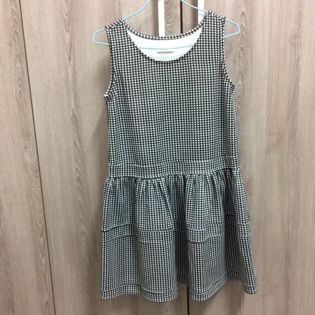 Pazzo格子背心洋裝