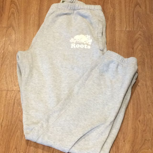 Plain Grey Women's Roots Trackpants