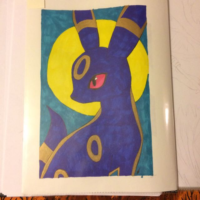 Pokémon Umbreon art