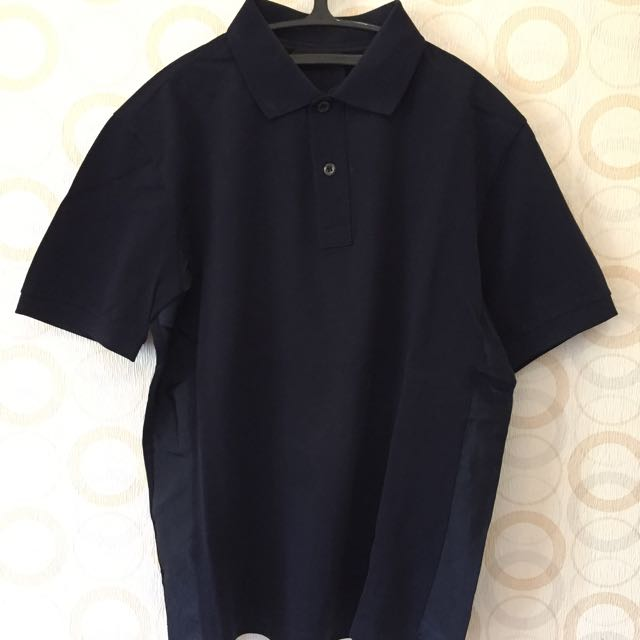 100% Authentic Prada Polo Navy Polo T-Shirt