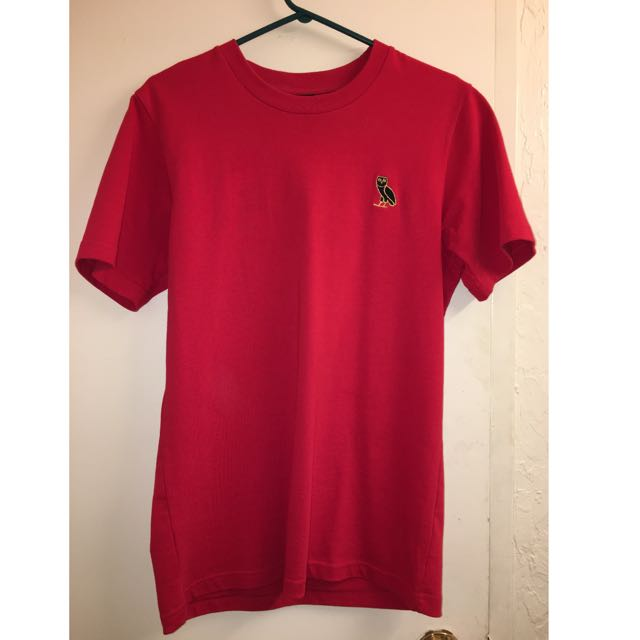 RED OVO TSHIRT