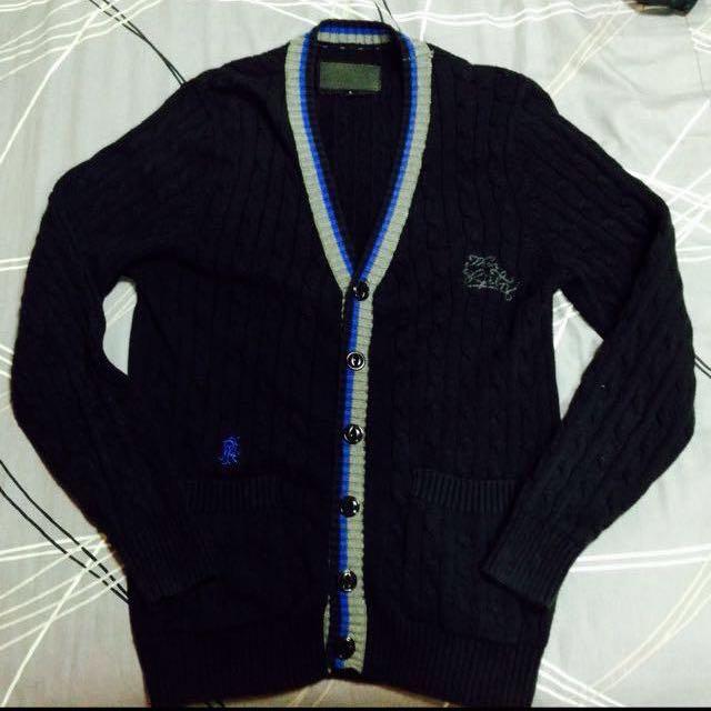 REPUTATION 羊毛 針織 開襟衫