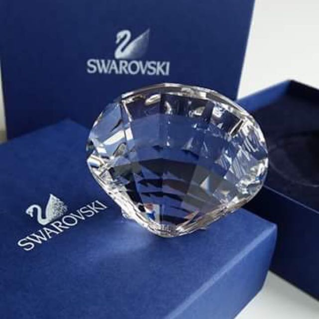 Swarovski Scallop Shell Crystal SCS 2006 . Retired!