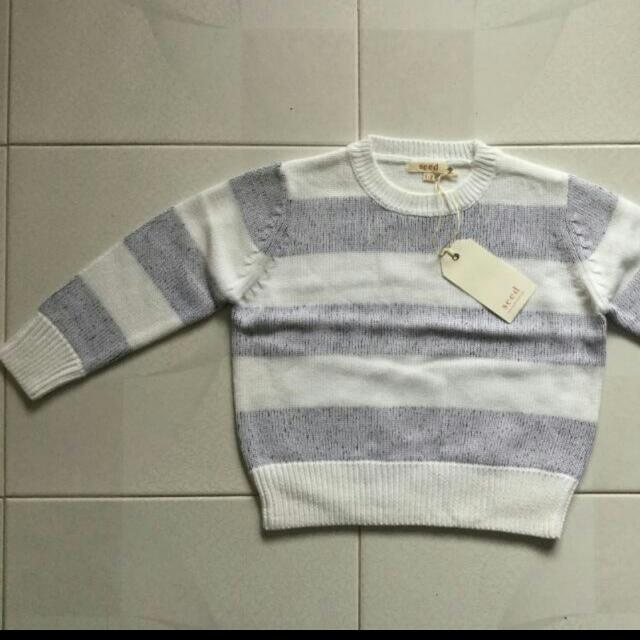 Brand New 1-2years Seed Baby Kids Sweater
