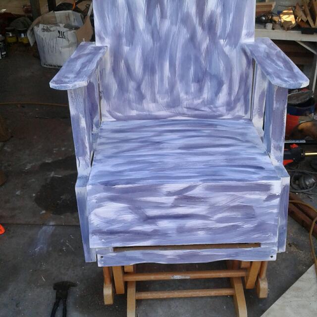 Shabby Chic Rocker Chair
