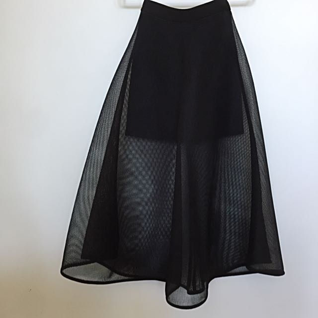 Sheike Mesh Skirt