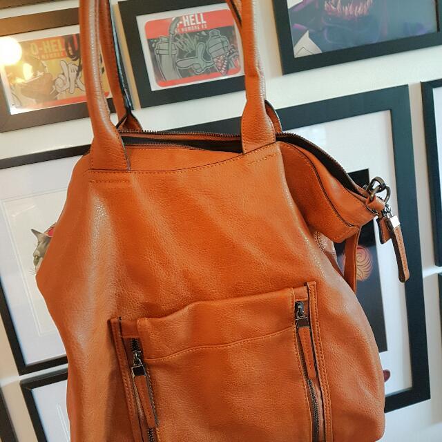 Sports girl leather Handbag