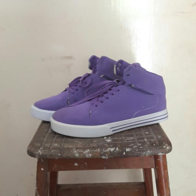 SUPRA Purple Shoes