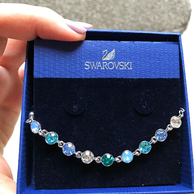 Swarovski Elements Multi Coloured Crystal Bracelet