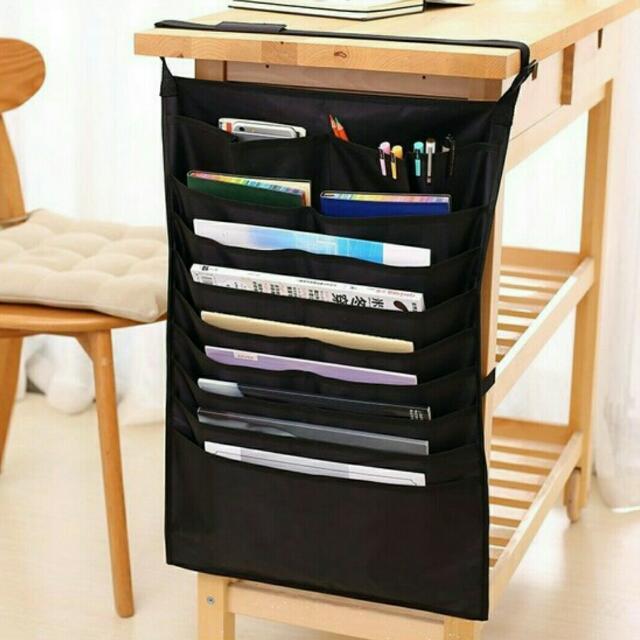Tas Organizer Samping Meja / Hanging Table Desk Organizer
