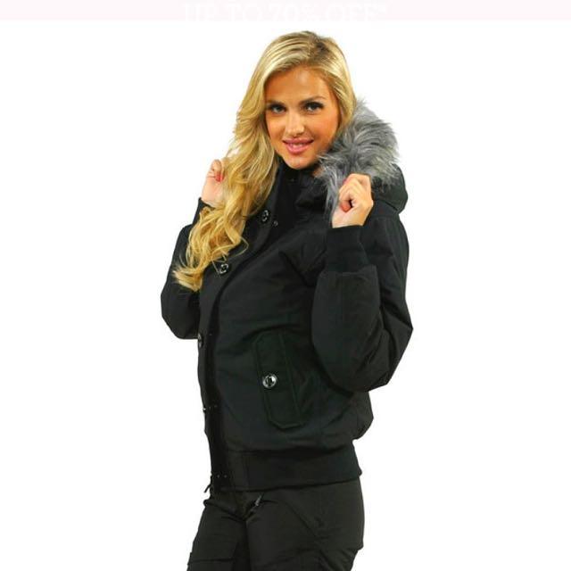 The North Face Women's TNF Black Brenda's Bomber Jacket