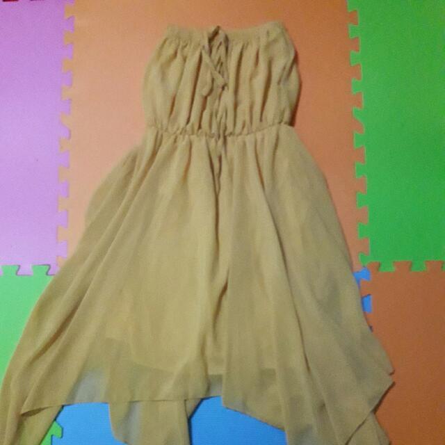 Tube Chiffon Dress