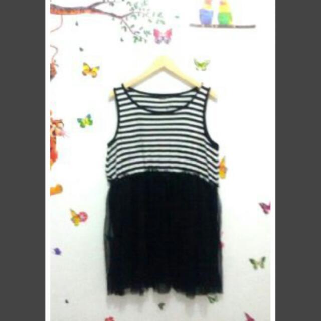 Tutu Dress Jumbo Xl Bigsize Big Size Gaun Wanita Murah
