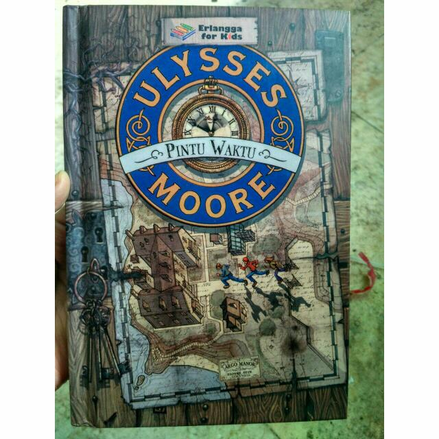 Ulysses Moore, Pintu Waktu: Erlangga For Kids