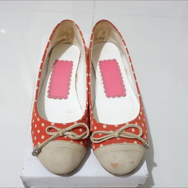 Vincci Polkadot Flat Shoes