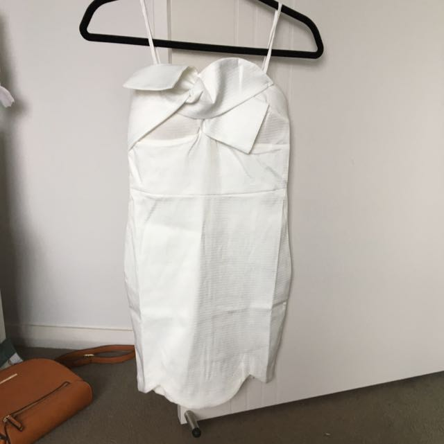 White Brand New Angel Biba Dress