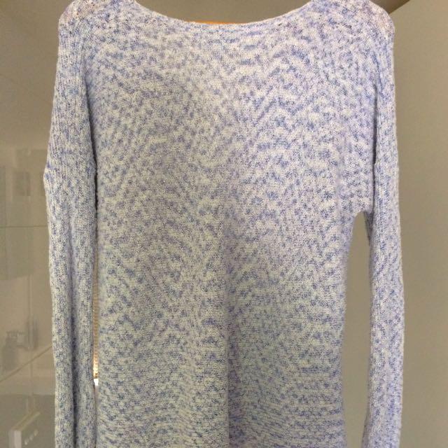 WITCHERY Blue Knit