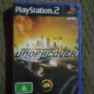 Need For Speed Undercover Ps2