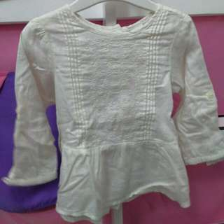 Pre 💗 H&M Girl's Blouse 9-12month