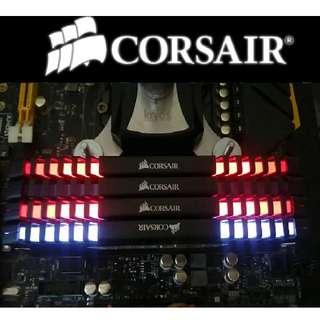 Corsair VENGEANCE® LED 16GB (2 x 8GB) DDR4 DRAM 3200MHz C16 Memory Kit - White LED (CMU16GX4M2C3200C16)