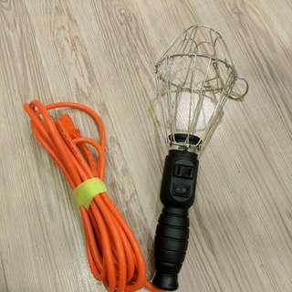 露營照明良伴,露營燈座,工作燈(不附燈泡),  15尺