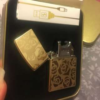 Rechargeable Rose Gold Lighter