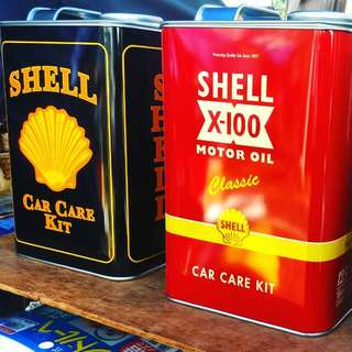 Shell Motor Oil Set of 3 125 Years Anniversary in Malaysia