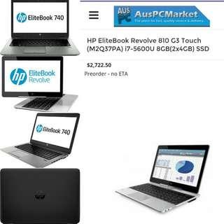 HP Elitebook Notebook Computer RRP $2722.50