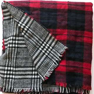 Oversized Reversible Scarf