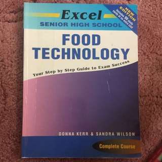 Excel Food Technology Textbook