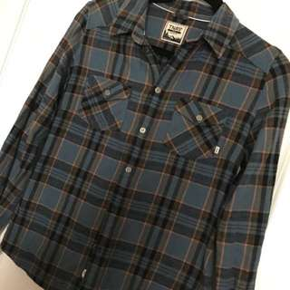 Aritzia Tna Flannel Plaid Shirt XS