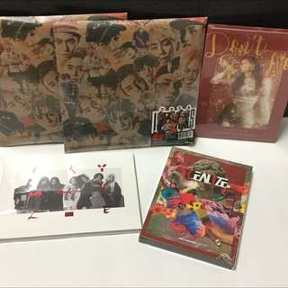 New Sealed Albums